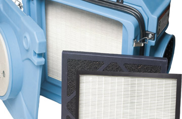 HEPA filters and devices
