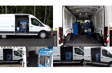 hydramaster announces slide in truckmount approval for ford transit
