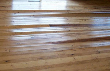 Wooden Floors Cupping