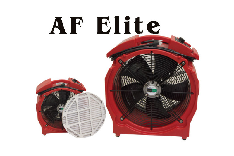 Axial air mover from K&J Products   Cleanfax