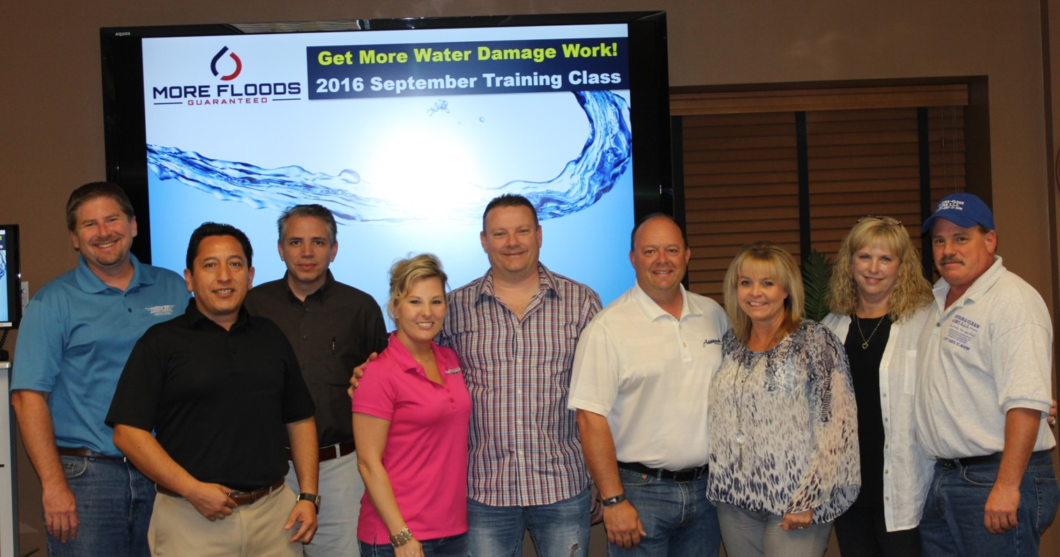 September 2016 More Floods Training Class Announced