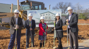 dwyer group groundbreaking