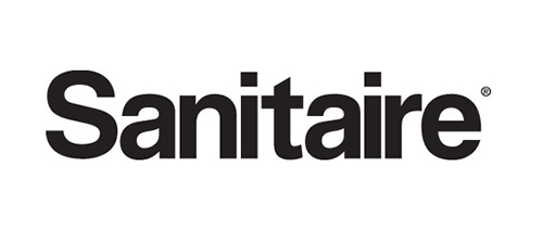 sanitaire black and white logo
