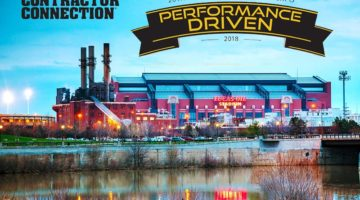 Indianapolis, USA - April 11, 2014: Lucas Oil Stadium in Indianapolis, Indiana. It's a multi-purpose stadium in downtown Indianapolis officially opened to the public on August 16, 2008. 2018 contractor connection event location