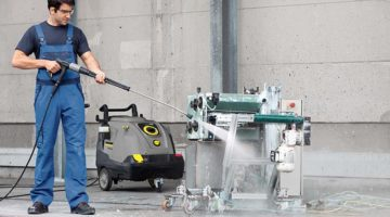 commercial pressure washer by swish