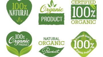 organic eco-certification eco-labelling natural logos