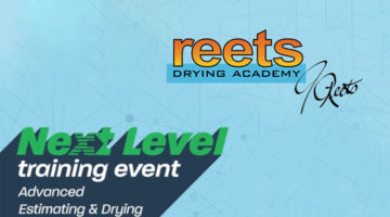 reets drying academy next level training advanced estimating and heat drying