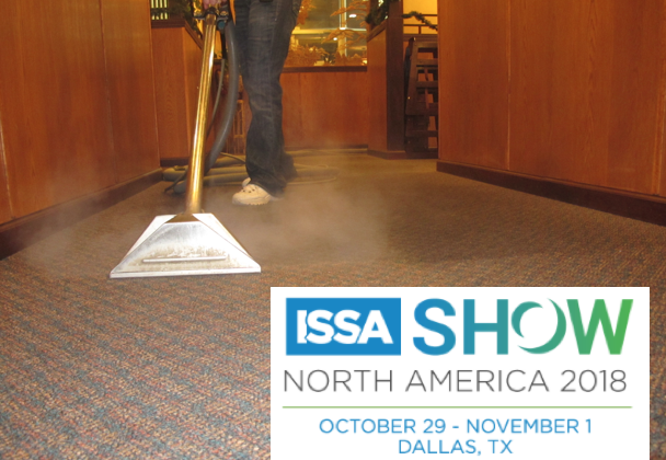 Jeff Cross the executive editor of Cleanfax to teach this CMI carpet care workshop at the ISSA Show in Dallas