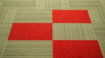 multi colored carpet tiles June 2018 Issue of The Commercial Flooring Report