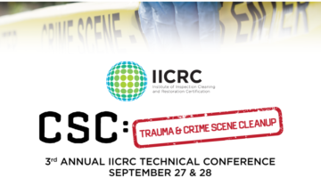 Last Call for Registration for the IICRC 2018 Technical Conference