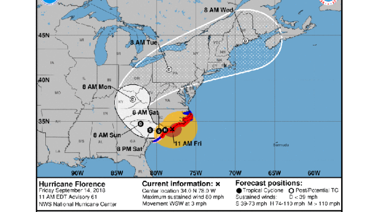 hurricane florence _5day_cone_no_line_and_wind