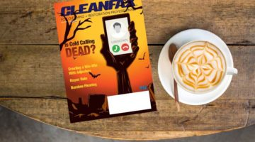 October 2018 cleanfax on coffee table
