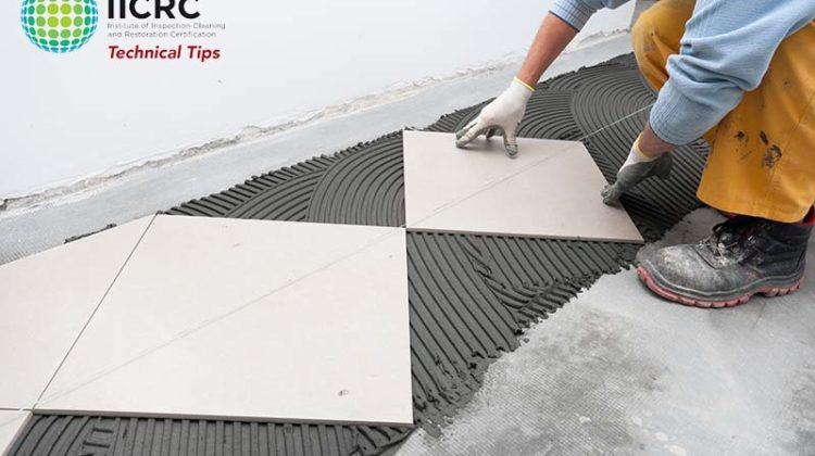 IICRC Technical Tip Floorcovering