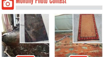 smoke-damaged rug photo contest