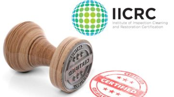 IICRC certified firms April