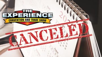 The Experience convention and trade show canceled